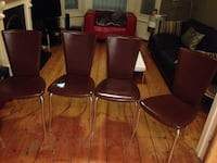 4 matching dining chairs London, SW4 7LQ