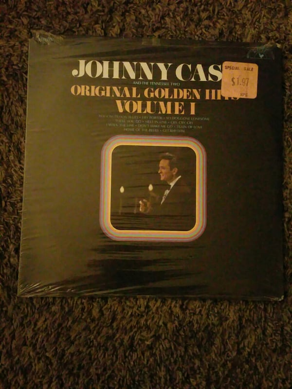 Johnny Cash record Album unopened 5d826e15-b927-4222-a2a8-5ca804f85efe