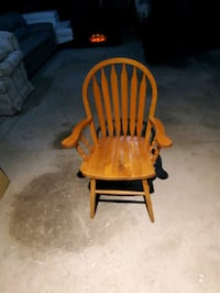 Solid oak chair Brampton, L6X