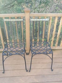 Pier 1 Wrought Iron Chairs Mount Airy, 21771