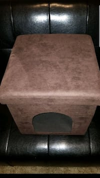 Brown ottoman and a place for your best-friend  Tucson, 85716