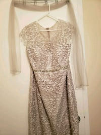 Champagne sparkle and embroidered dress Toronto, M8V 3Y4
