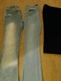two gray and black denim jeans Chandler, 85225