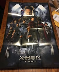 X-Force & X-Men Days of Future Past posters Catonsville, 21228