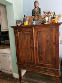 REAL SOLID WOOD cabinet finest quality