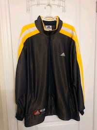 black and yellow adidas zip-up jacket 553 km