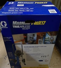 Graco magnum prox17 paint sprayer 17g1781 new Baltimore, 21205