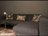 FREE DELIVERY! - BEAUTIFUL MODERN GREY SECTIONAL COUCH - GREAT COND Markham, L3R 9W3