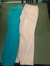 Green and pink old navy jeans  Kearny, 07032