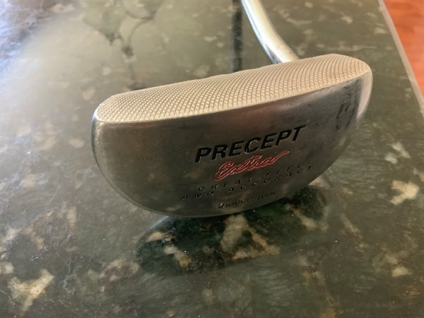 "Bridgestone Precept Extra Milled Face 35"" RH Putter (Magistick Steel Shaft)."