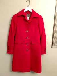Size 0 • J Crew Double-Cloth Coat with Thinsulate  Toronto