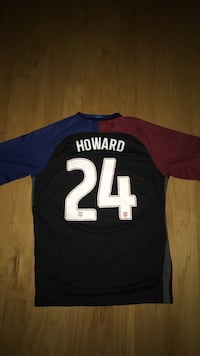 black, red and brown Howard 24 jersey shirt Pflugerville, 78660