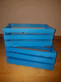 Wood baskets 5euro for both