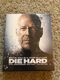Die Hard 25th anniversary Blu-Ray collection Campbell, 95008