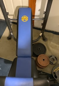 Marcy weight bench with weights, 2 barbells, & another bench  Vine Grove, 40175