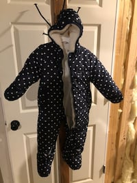 Winter suit navy white 18mo Downingtown, 19335