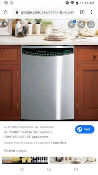 ge quiet power 3 dishwasher stainless Savannah
