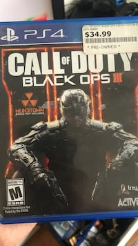 Call of Duty Black Ops III PS4 spill tilfelle