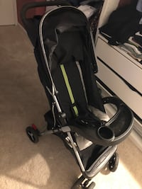 baby's black and gray stroller Waldorf, 20602