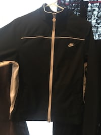 black and white Nike Turtle neck zip up jacket Vancouver, 98665