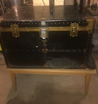 Antique treasure chest and table Bethlehem, 18018