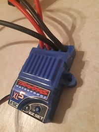 Esc and motor made by Traxxas.