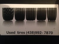 "Used winter tires 15"" 16"" 17"" 18"""