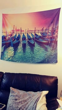 XXL Peaceful Tapestry Painting for wall decor   Alexandria, 22304