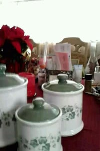 ceramic  Canister Set. &20.00 FIRM Silver Spring, 20904