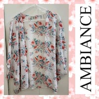 Ambiance Apparel Floral Kimono Hagerstown, 21740