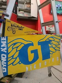 GT BMX banner and Winchester BMX pennant Charles Town, 25414