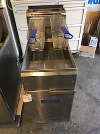 stainless steel and black commercial refrigerator Kingsport, 37664