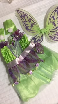 green and purple floral dress null, T8C 1H4