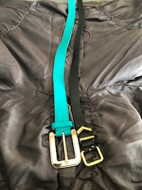 two blue and black leather belts Sacramento, 95834