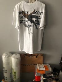 Virgril abloh x travis scott t shirt XL Toronto, M6N 4Z5