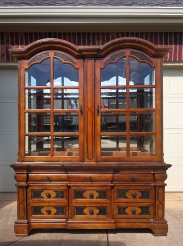 Used Western Dining Room China Cabinet For Sale In Denton
