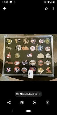 amazing set of officially recognized MLB Pins . Christmas is coming  Goose Creek, 29445