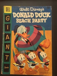 Donald Duck Beach Party #3 Sterling, 20164