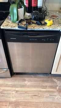 black and silver-colored Frigidaire dishwasher Toronto, M6S 5B7