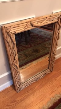 brown wooden framed glass display cabinet West Suffield, 06093