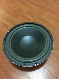 round black and gray subwoofer Toronto, M3J 3T1
