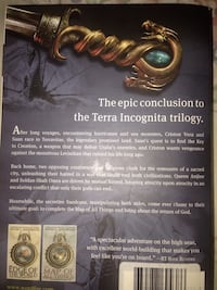 Last book in the terra incognita  trilogy  Elmont, 11003