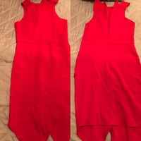 Red sleeveless dress (Small) Mobile