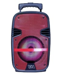 """Top Tech Audio Fully Amplified Portable 2500 Watts Peak Power 15"""" Speaker with LED Light Florence"""