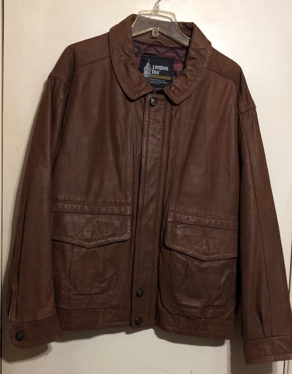 LONDON FOG LEATHER JACKET MEN'S 1X SEND YOUR BEST OFFER f3d0a121-d891-4ea4-9cc3-a2c132044a29