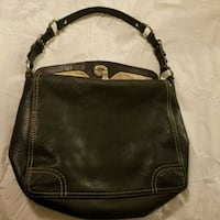 black and brown leather Coach bag Knoxville, 37909