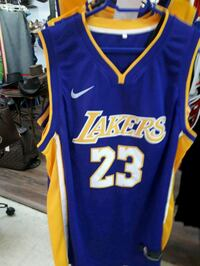 blue and red Lakers 24 jersey Montréal, H3N 2R6