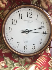 "Sterling & Noble 20"" Clock"