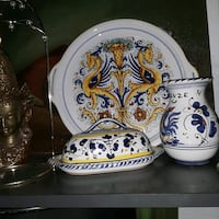 Beautiful colors in this Italian serving dishes Tempe, 85283