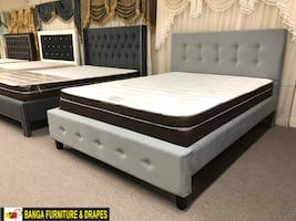 CANADIAN BED FRAME AND MATTRESS FACTORY SALE